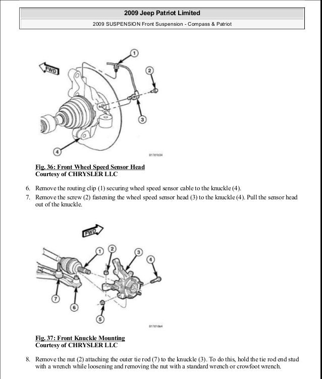 jeep patriot abs sensor diagram