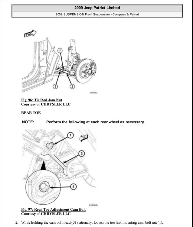 jeep patriot rear suspension diagram images  jeep  auto