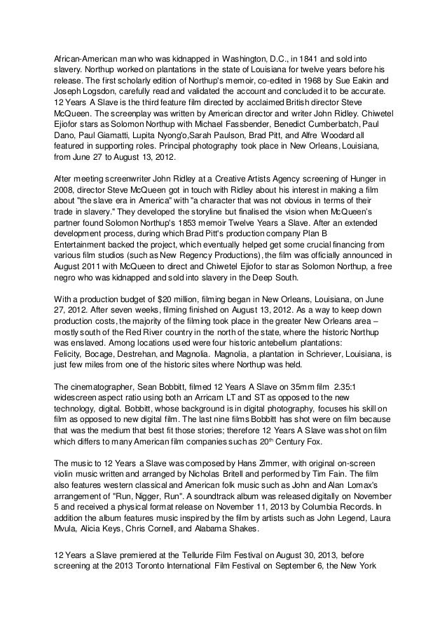 frozen essay  4 african american