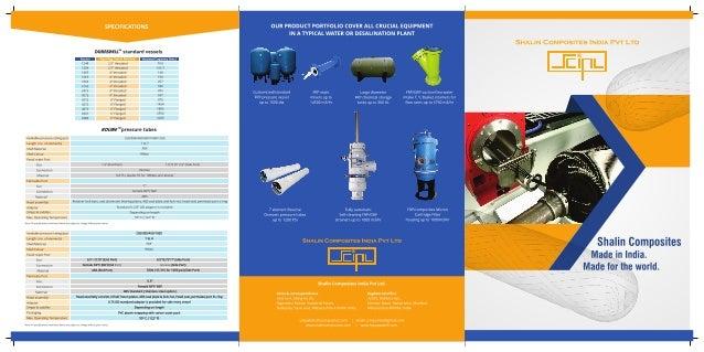 Shalin Composites India Pvt Ltd, Mumbai, Chemical Process Equipment