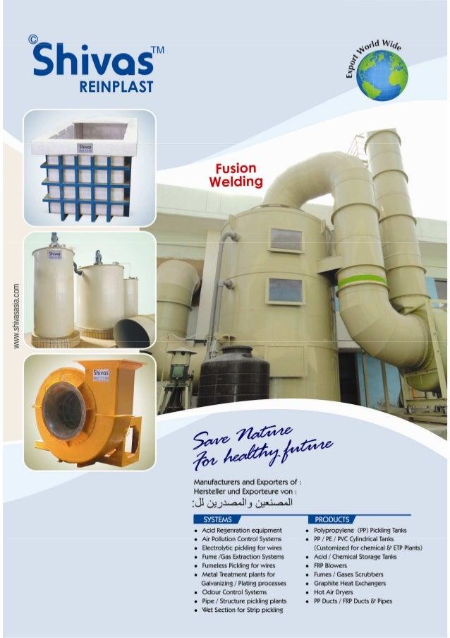 Shivas Reinplast Company Of India, Ghaziabad, Air Pollution Control System