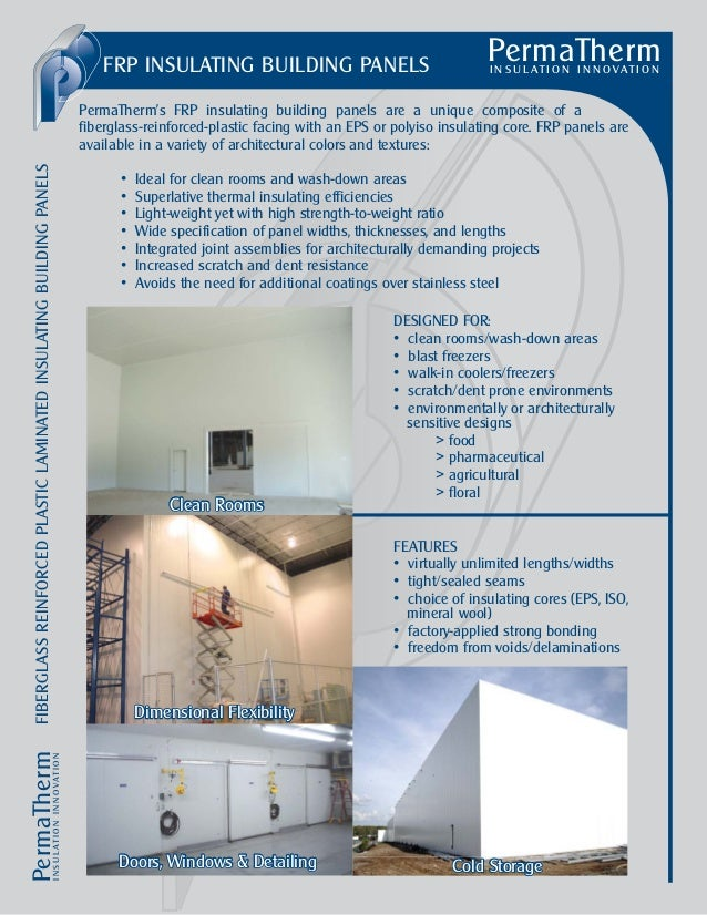 FRP INSULATING BUILDING PANELS                                                                                            ...