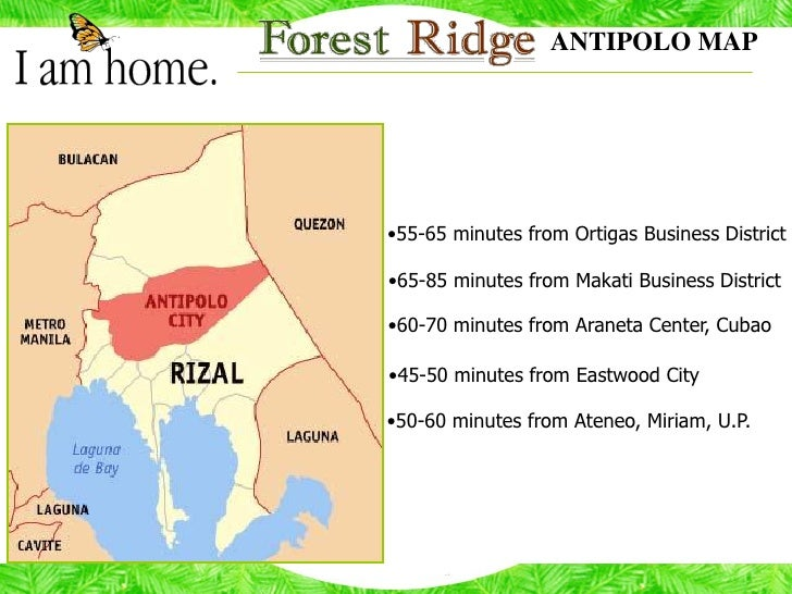 Forest Ridge Antipolo City