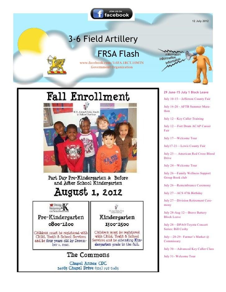 12 July 20123-6 Field Artillery            FRSA Flash   www.facebook.com/3.6FA.1BCT.10MTN        Government Organization  ...
