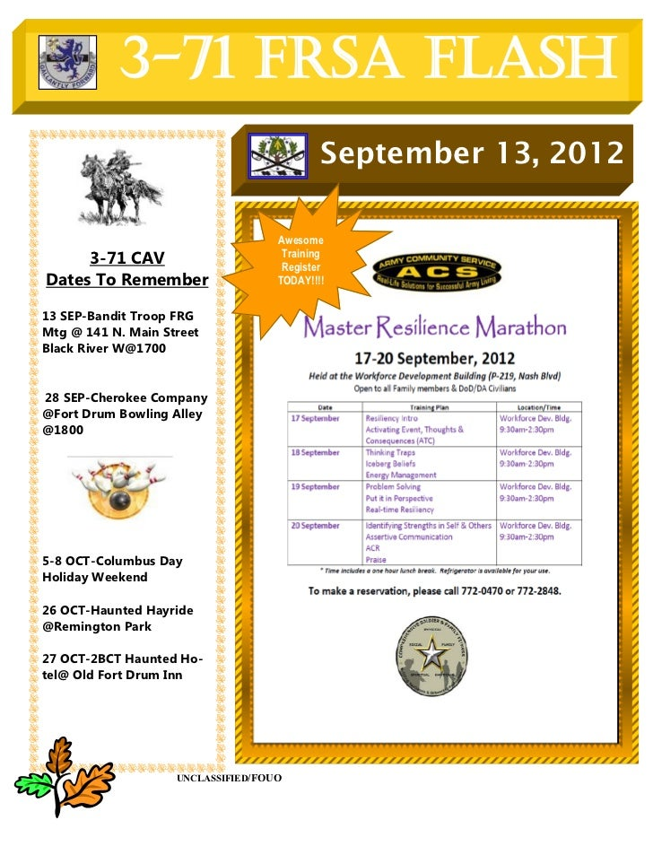 3-71 FRSA Flash                                            September 13, 2012                                    Awesome  ...
