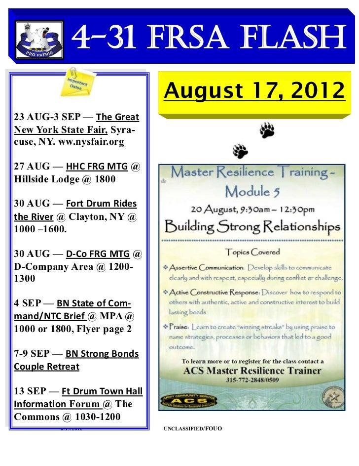 4-31 FRSA Flash                             August 17, 201223 AUG-3 SEP — The GreatNew York State Fair, Syra-cuse, NY. ww....