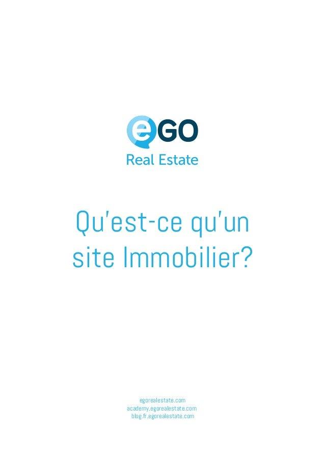 egorealestate.com academy.egorealestate.com blog.fr.egorealestate.com Qu'est-ce qu'un site Immobilier?