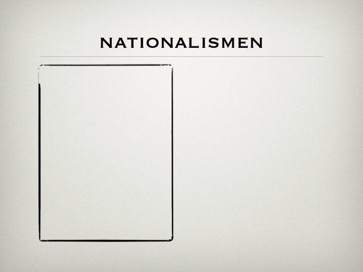 nationalismen