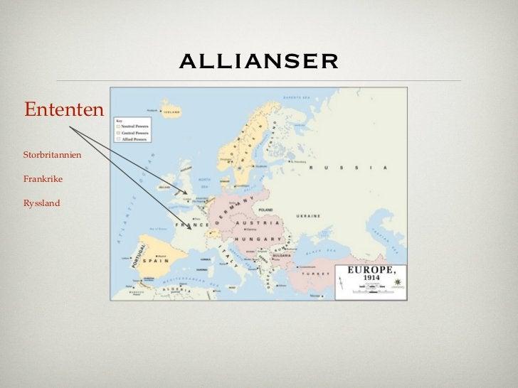 allianserEntentenStorbritannienFrankrikeRyssland