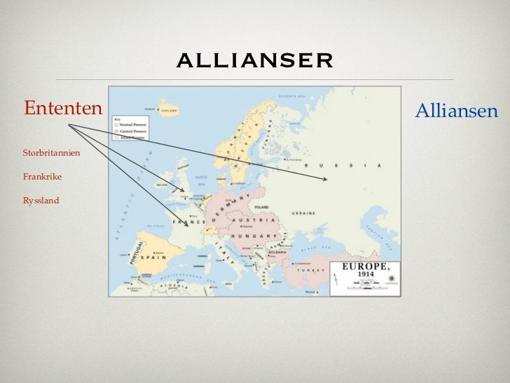 allianserEntenten                     AlliansenStorbritannienFrankrikeRyssland