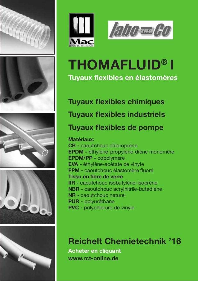 Acheter en cliquant www.rct-online.de Thomafluid® I Tuyaux flexibles en élastomères Tuyaux flexibles chimiques Tuyaux flex...