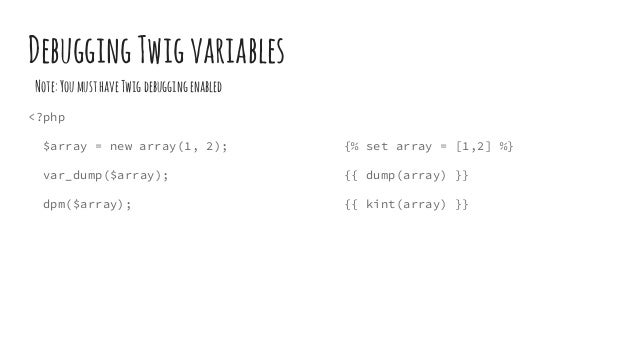 Twig + drupal 8