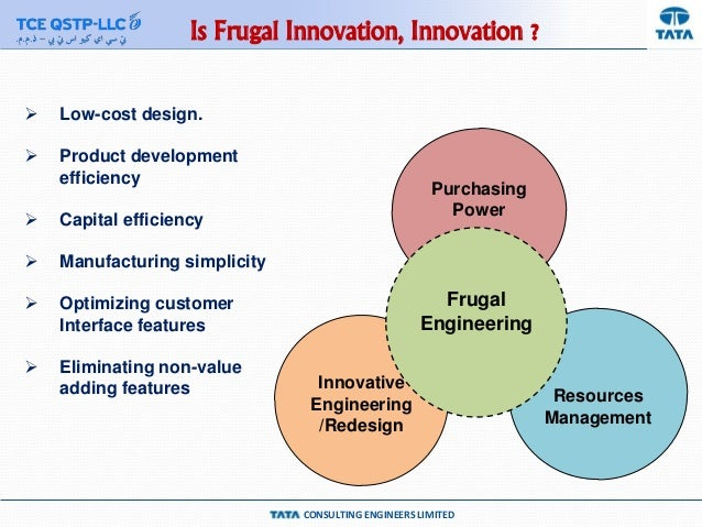 Frugal innovation – achieving more with fewer resources
