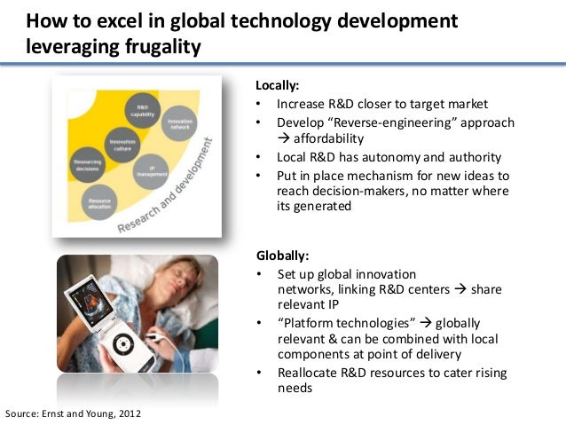 How to excel in global technology development    leveraging frugality                                Locally:             ...
