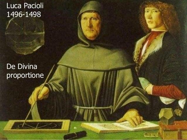 Luca Pacioli1496-1498De Divinaproportione