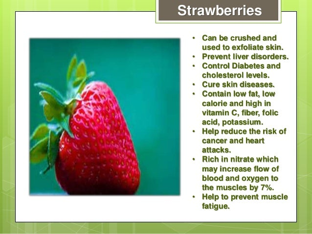 Fruit facts for Interesting facts about strawberries