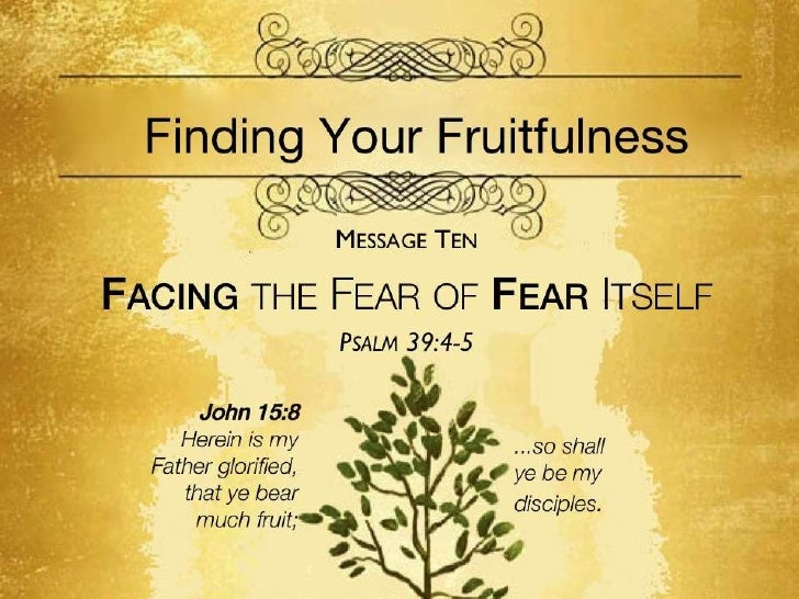 Fruitfulness 10 psalm 39 4 5 slides 100911