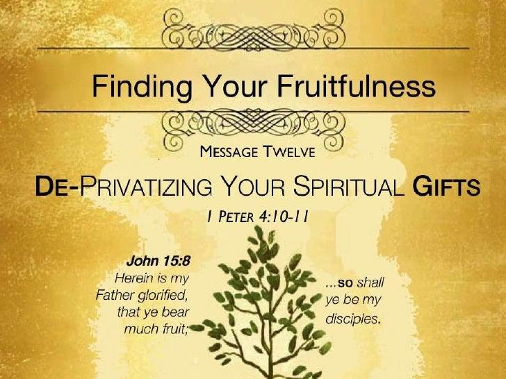 Fruitfulness 12 synopsis 1 pet 4 10 11 slides 102311