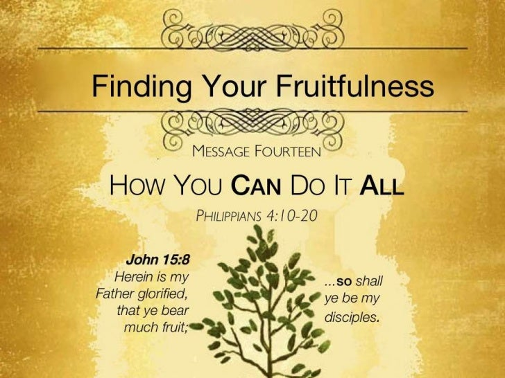 Fruitfulness 14   phil 4 10-20 slides 111311