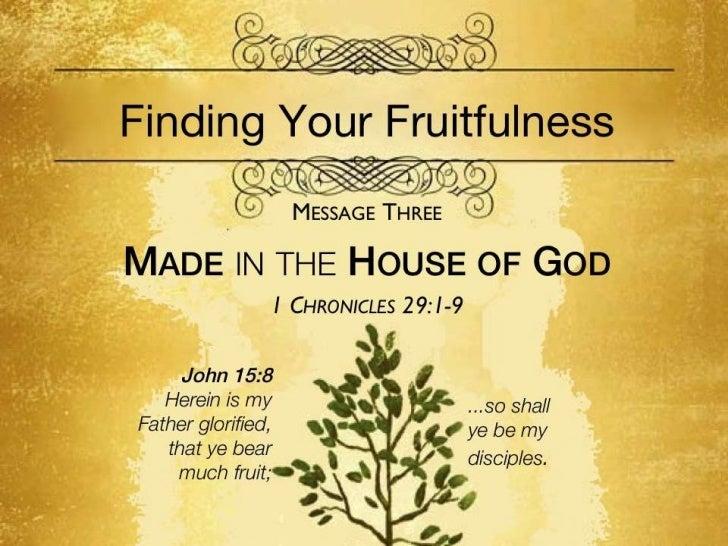 Fruitfulness 3   1 chron 29 1-9 slides 072411