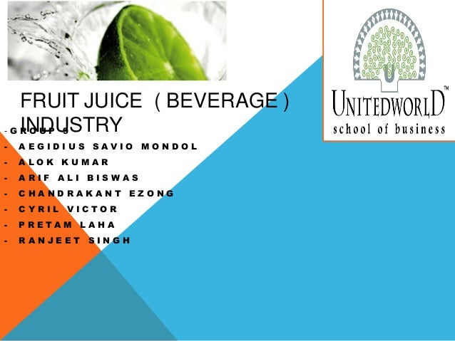 fruit juice industry What is the market size of juice in india what is the key on-trade distribution for fruit juice and vegetable juice in india why buy this report.