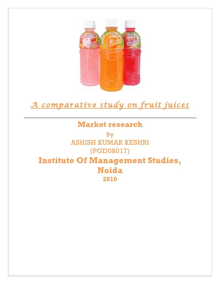 case study fruit juices industry marketing essay Case study: a juice and beverage company in kuwait joint juice case study essay we were assigned as a group to have a study on various fruit juice companies.
