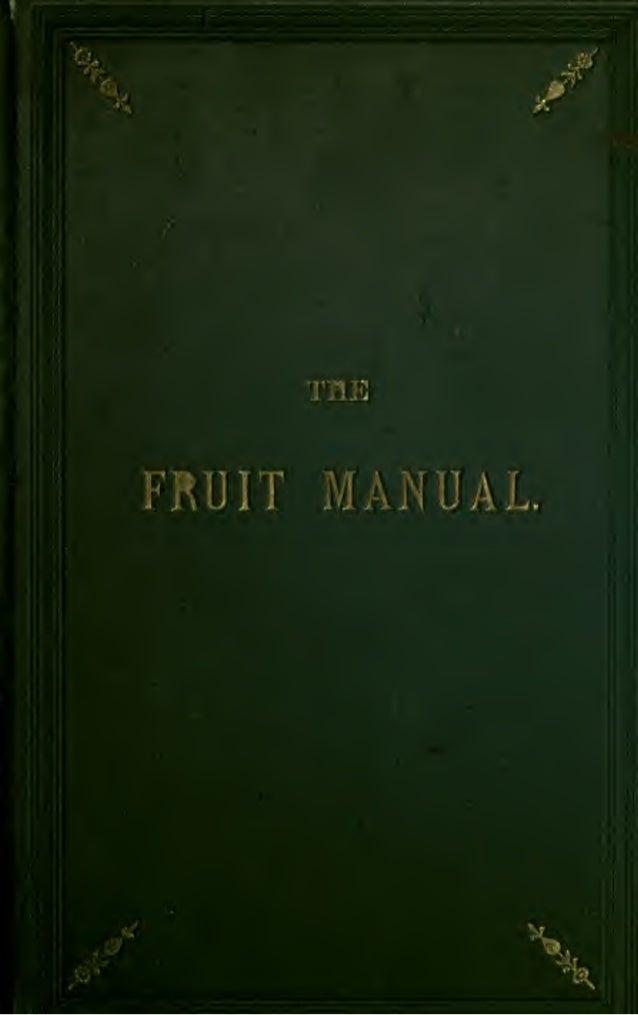 FRUIT   MANUAL