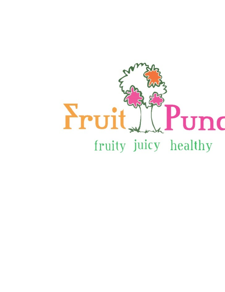 Fruit punch - Launching a New Product - Marketing Slide 2