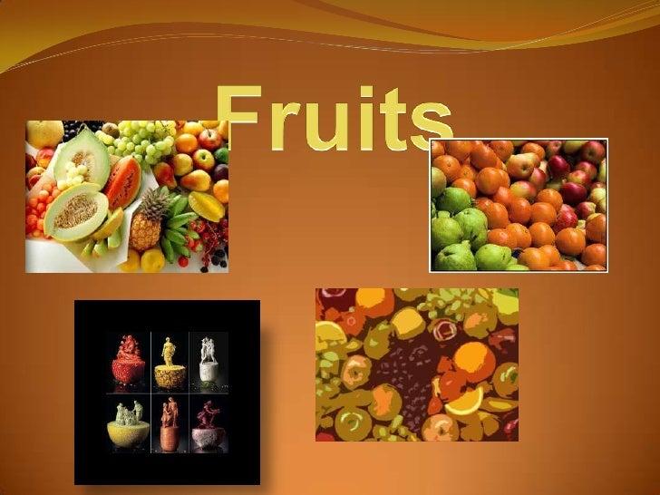 Fruits<br />