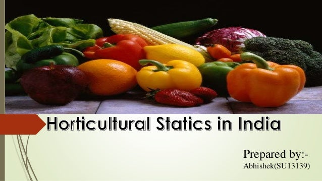 Status of Fruit and vegetable industry in India