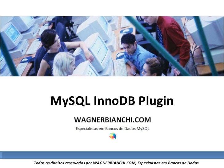 MySQL InnoDB Plugin
