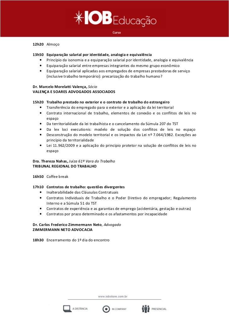 Fórum de Direito Trabalhista e Previdenciário - IOB e-Store Slide 3