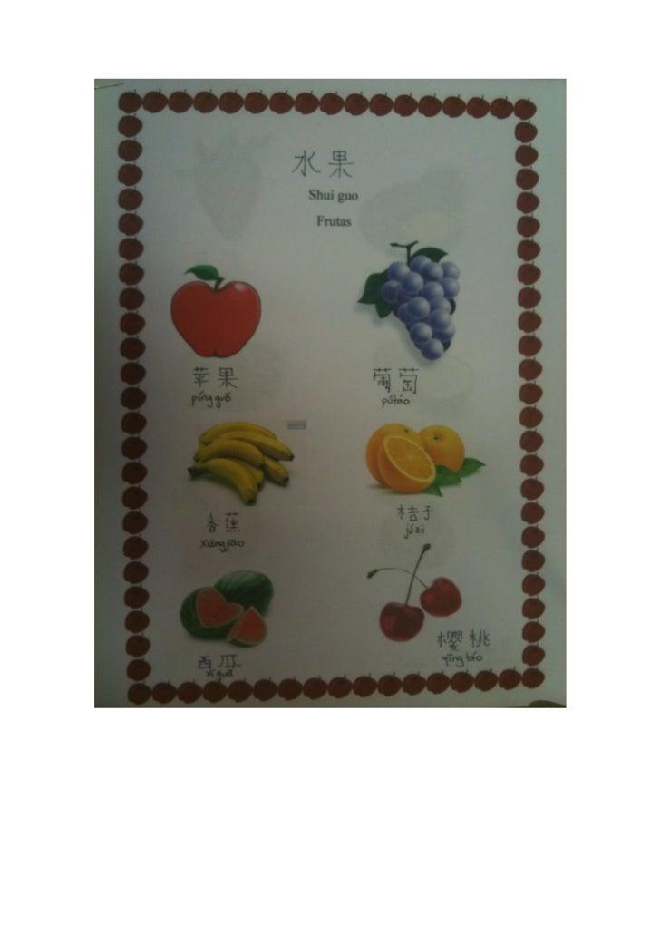 Frutas 水果