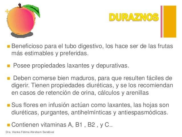 Frutas propiedades nutritivas - Frutas diureticas y laxantes ...
