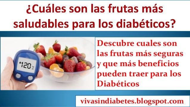 Frutas saludables para diabeticos
