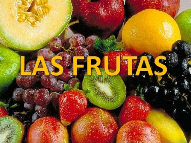 Las frutas son alimentos nutricionalmente muy valorados y se sitúan en la base de la pirámide alimenticia como los mas ind...