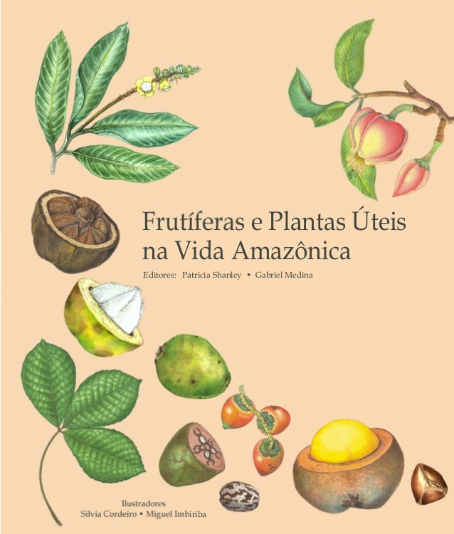 Ilustradores Silvia Cordeiro • Miguel Imbiriba Frutíferas e Plantas Úteis na Vida Amazônica Editores: Patricia Shanley • G...