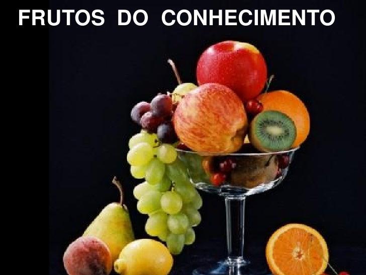 FRUTOS DO CONHECIMENTO