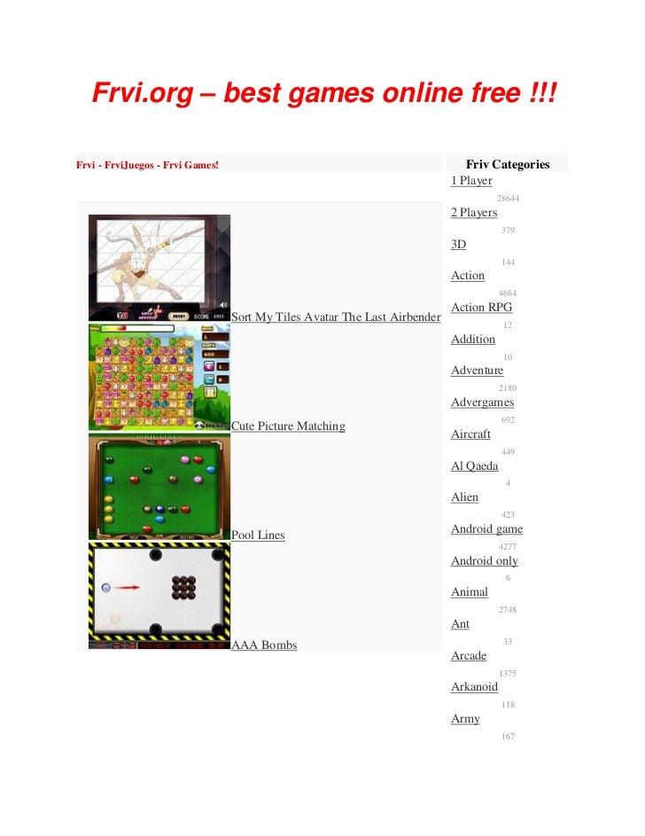 Frvi.org – best games online free !!!Frvi - FrviJuegos - Frvi Games!                                                Friv C...