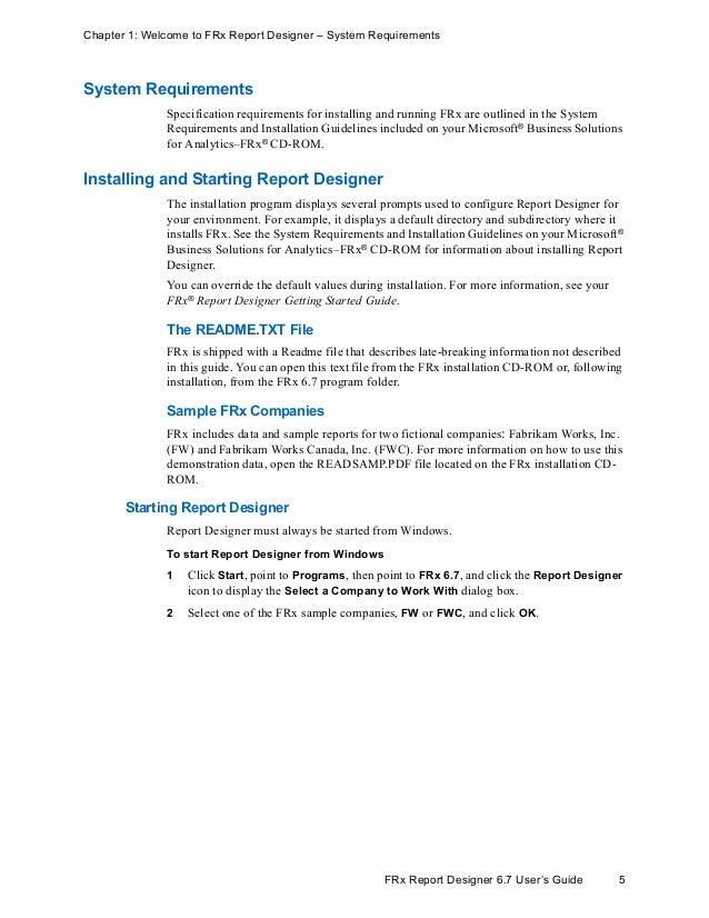 frx version 6 7 user manual and guide rh slideshare net Federal Prison Sentences Federal Prison Sentences
