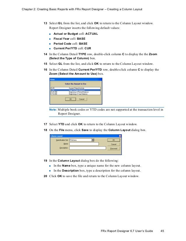 FRX Version 6 7 User Manual and Guide