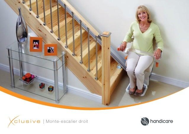 | Monte-escalier droit