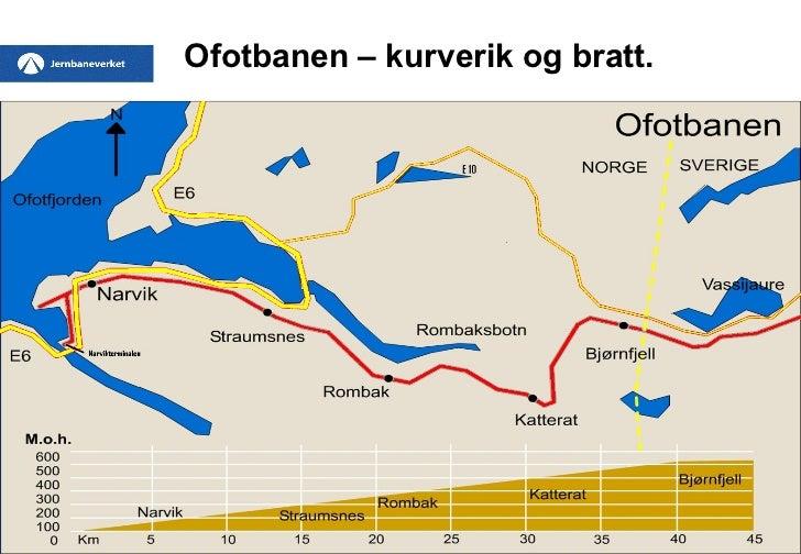 ofotbanen kart Malm, mer malm og mer enn malm ofotbanen kart