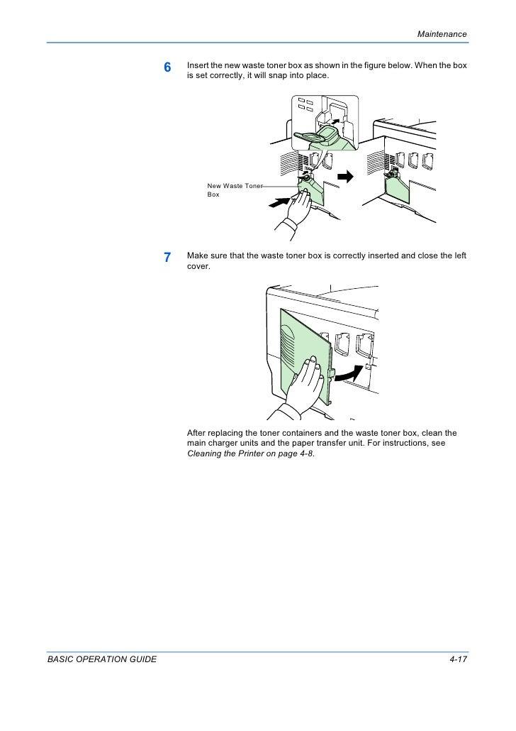 Kyocera FS-C-5030-N Operation Guide