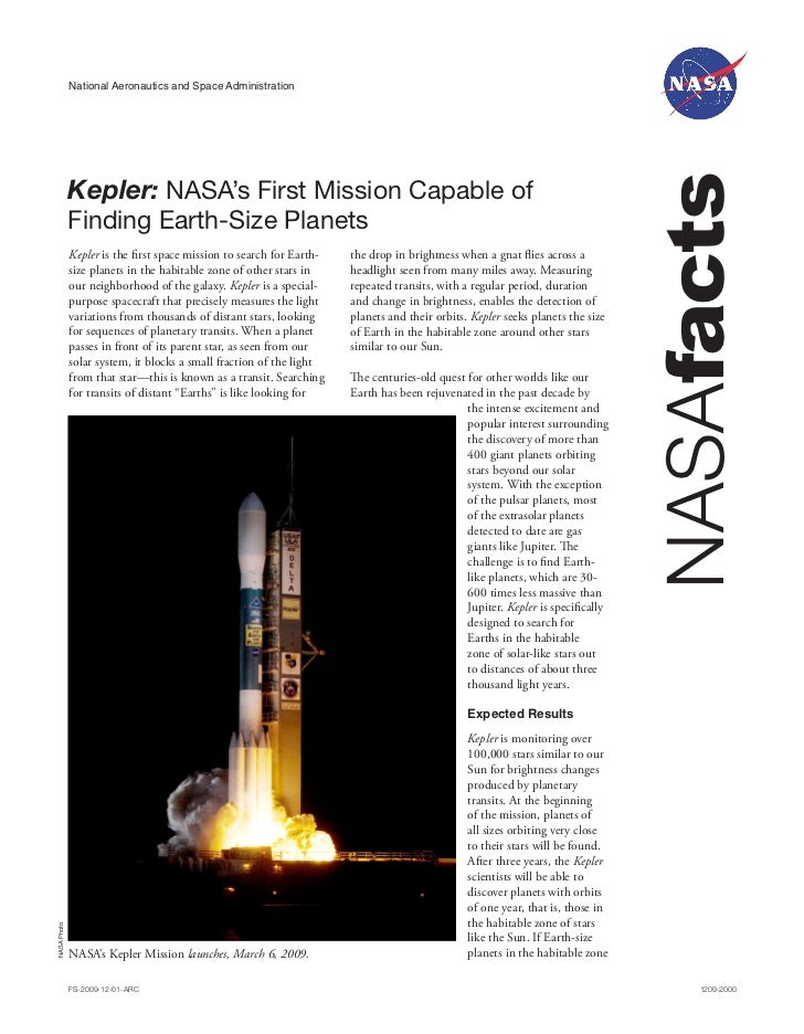 National Aeronautics and Space Administration                                                                             ...