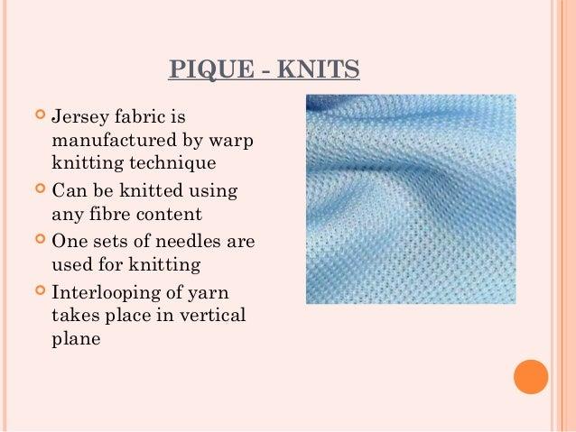 9b08285b740f PIQUE - KNITS Jersey fabric ...