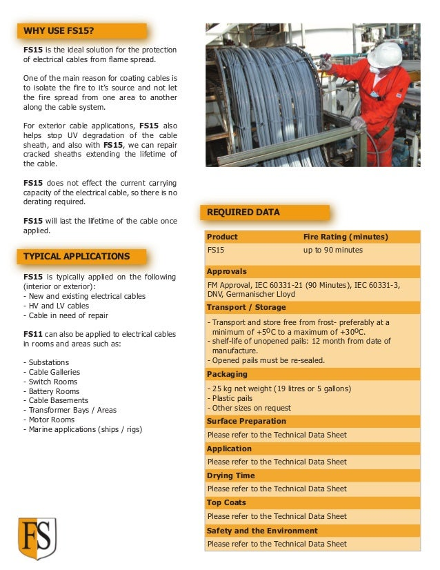 Cable Coating | Ablative Cable Coating | FIRE SECURITY SYSTEMS