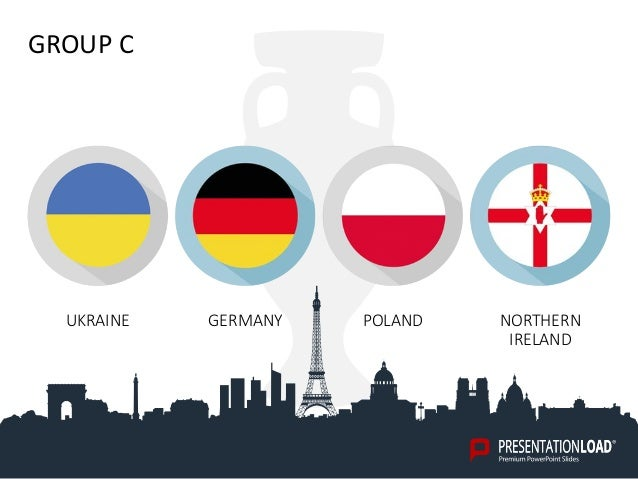 Powerpoint template euro 2016 group c ukraine germany poland northern ireland toneelgroepblik Choice Image