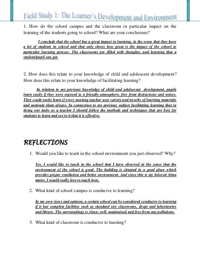 Descriptive observation essay