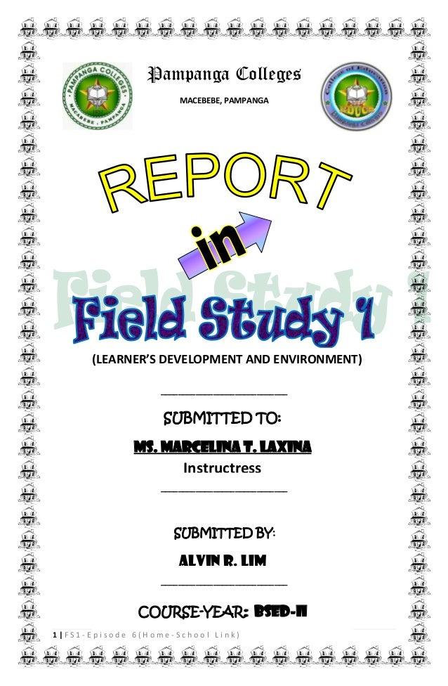 field study 6 episode 1